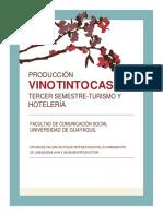 Elaboración de Vino Casero