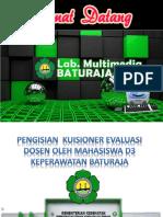 PENGISIAN  KUISIONER EVALUASI DOSEN OLEH MAHASISWA D3 KEPERAWATAN.pptx