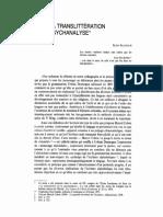 1978 De la translittération en psychanalyse.pdf