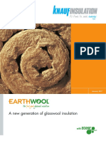 EARTHWOOL - A New Generation of Glasswool Insulation