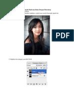 Cara Membuat Wajah Menjadi Putih Dan Halus Dengan Photoshop