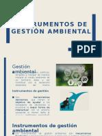 Instrumentos de Gestión Ambiental