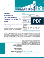 Boletín Macro Fiscal 19