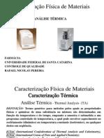 AULA ANALISE TERMICA GRADUAÇÃO pdf
