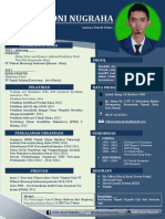 New Resume Ridho