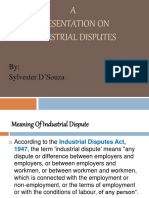 Industrial Disputes- Adjudication