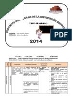 PROYECTO DE TERCER GRADO -2014.docx