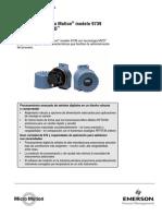 Transmisores Micro Motion Modelo 9739