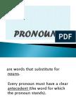 Drie 3 Pronoun