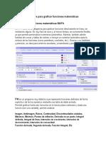 Software Para Graficar Funciones Matemáticas