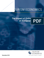 131204_The Impact of Online Content on European Tourism