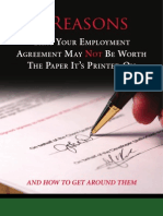 3 Reasons That Your Employment Agreement May Not Be Worth the Paper It's Printed On
