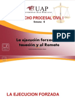 EJECUCION TASACION Y REMATE