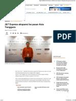 J&T Express Ekspansi Ke Pasar Asia Tenggara