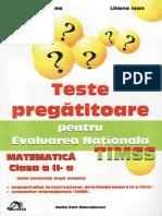 Teste.pregatitoare.matematica.evaluarea.nationala Clasa.2 Ed.delta.cart TEKKEN
