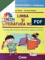 Teste.pregatitoare.limba.romana.evaluarea Clasa.2 Ed.delta.cart TEKKEN