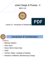 0.0 Introduction and Familarization
