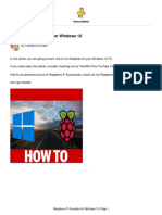 Raspberry Pi Emulator for Windows 10