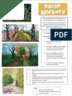 david hockney worksheet