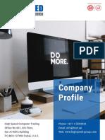 High Speed Company Profile