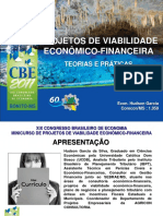 Projetos de Viabilidade Econômico Financeira