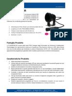IT-SSA3POE-IR - Illuminatore ad Infrarosso