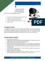 IT-SSA6POE-IR - Illuminatore ad Infrarosso