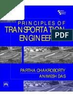 Partha Chakroborty, Animesh Das - Principles of Transportation Engineering