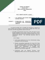 OCA Circular No. 59 2013