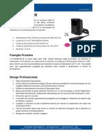 IT-SSG6POE-IR - Illuminatore ad Infrarosso