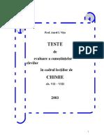 Teste de evaluare pentru clasele VII-VIII_chimie.doc