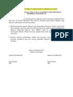 Contoh Format Surat Permohonan Persetujuan Andalalin