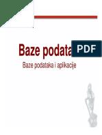 BP Lekcija 14_Baze Podataka i Aplikacije