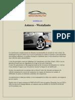 Astuces - Westafauto