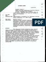 Development and Legal Regulations of Coercive Behavior Modifications