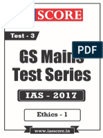 GS Score 2017 Mains Test 3 With Solutions - Ethics-1