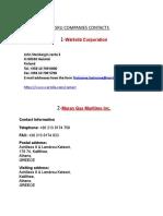 Fsru Companies Contacts (2)