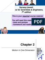 Materi Gerak satu dimensi bab 2.ppt