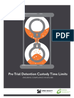 Malawi Custody Time Limit Report January 2013