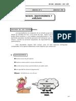 III Bim - 2do. año - Guía 6 - Celomados - Equinodermos y Ané.doc