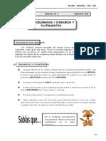 III Bim - 2do. Año - Guía 3 - Acelomados-cnidarios y Platelm