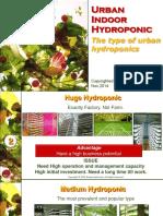 Urban Indoor Hydroponic Type of Urban Hydroponics Ver1