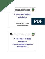 A ESCOLHA DO MÉTODO ESTATÍSTICO - Profa. Dra. Lívia Maria Andaló Tenuta (UNICAMP).pdf