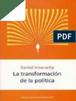 La Transformacion de La Politica Daniel Innerarity