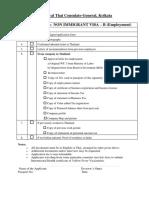 Checklist Non Immigrant Visa B Latest