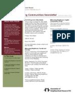 Newsletter September 2010