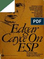 Edgar Cayce, Doris Agee - Edgar Cayce on ESP