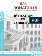 EUROMAT2015 Invitation to Exhibition