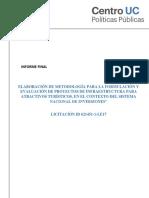 Metodologia Para La Formulacion y Evaluacion de Proyectos de Infraestructura Para Atractivos Turisticos (1)