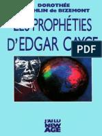 Edgar Cayce, Dorothée Koechlin de Bizemont - Les Prophéties d'Edgar Cayce